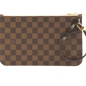 Neverfull Pochette XL  Canvas Clutch